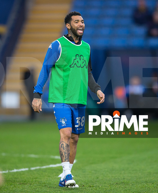 Jermaine Pennant of Bury warms up ahead of the Sky Bet League 1 match between Oxford United and Bury at the Kassam Stadium, Oxford, England on 28 March 2017. Photo by Andy Rowland / PRiME Media Images.