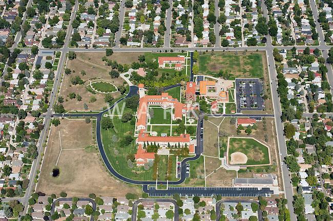 Aerial Denver, Colorado