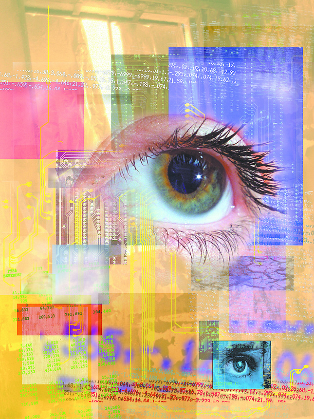 Eye and circuits.