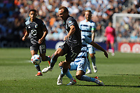 ST. PAUL, MN - AUGUST 21: Chase Gasper #77 of Minnesota United FC and Graham Zusi #8 of Sporting Kansas City battle for the ball during a game between Sporting Kansas City and Minnesota United FC at Allianz Field on August 21, 2021 in St. Paul, Minnesota.