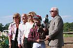 4 JUL 2009:  Coal Play and Joe Bravo go wire-to-wire to win the Grade III Salvator Mile