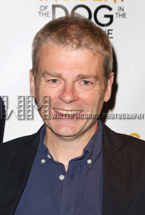Author Mark Haddon attends the Broadway Opening Night Performance After Party for 'The Curious Incident of the Dog in the Night-Time'  at Urbo on October 5, 2014 in New York City.