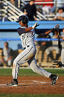 August 2nd 2008:  Ciro Rosero of the State College Spikes, Class-A affiliate of the Pittsburgh Pirates, during a game at Dwyer Stadium in Batavia, NY.  Photo by:  Mike Janes/Four Seam Images