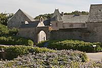 Europe/France/Normandie/Basse-Normandie/50/Manche/Presqu'île de la Hague/Omonville-la-Rogue: Manoir du Tourp 17 ème racheté par le Conservatoire du Littoral