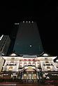 New Kabukiza Theater Illuminated