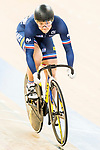 Mathilde Gros of the France team competes in the Women's Sprint - Quarterfinals as part of the 2017 UCI Track Cycling World Championships on 13 April 2017, in Hong Kong Velodrome, Hong Kong, China. Photo by Marcio Rodrigo Machado / Power Sport Images