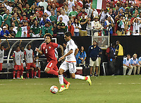 Atlanta, Georgia - Wednesday July 22, 2015. The Mexican National Team defeated the National Team of Panama, 2-1, in Extra Time, in the semifinals of the 2015 Gold Cup at the Georgia Dome.