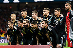 Argentina squad pose for team photo during the International Friendly 2018 match between Spain and Argentina at Wanda Metropolitano Stadium on 27 March 2018 in Madrid, Spain. Photo by Diego Souto / Power Sport Images