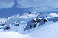 Whistler Ski Resort, BC, British Columbia, Canada - Downhill Ski Slopes (Coast Mountains), Winter