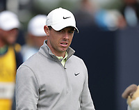 16th July 2021; Royal St Georges Golf Club, Sandwich, Kent, England; The Open Championship Tour Golf, Day Two; Rory McIlroy (NIR) walks from the tee at the 1st hole