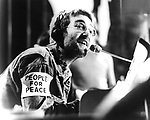 "John Lennon 1970 Plastic Ono Band on ""Top Of The Pops""..© Chris Walter.............."