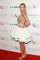 WEST HOLLYWOOD, CA, USA - OCTOBER 23: Joanna Krupa arrives at the Life & Style Weekly 10 Year Anniversary Party held at SkyBar at the Mondrian Los Angeles on October 23, 2014 in West Hollywood, California, United States. (Photo by David Acosta/Celebrity Monitor)