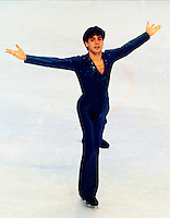 Brian Pockar Canadian figure skater. Photo copyright Scott Grant