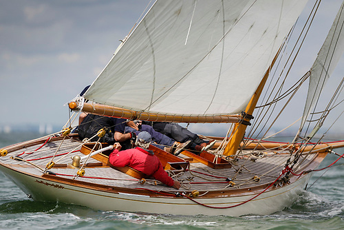 Gold Medal Winner. The restored 8 Metre Ierne was originally designed and built in 1913-14 by William Fife for Royal Munster YC Commodore Arthur Sharman Crawford. But when she won the Gold Medal in the 1920 post-Great War, post Spanish Flu Olympics, she had moved into Norwegian ownership.
