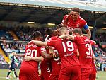 04.08.2019 Kilmarnock v Rangers: James Tavernier joins in with Scott Arfield