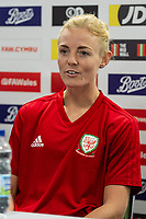 Sophie Ingle of Wales Women during the Wales Women Press Conference and Training Session at the Cardiff International Sports Stadium in Cardiff, Wales, UK. Monday 03 June 2019