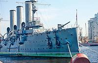 Russian Battleship Aurora, St. Petersburg, Russia.