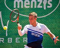 Zandvoort, Netherlands, 05 June, 2016, Tennis, Playoffs Competition, Scott Griekspoor (NED)<br /> Photo: Henk Koster/tennisimages.com