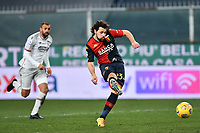 Mattia Destro of Genoa CFC scores the goal of 2-0 during the Serie A football match between Genoa CFC and Bologna FC at Marassi Stadium in Genova (Italy), January 10th, 2021. Photo Daniele Buffa / Image Sport / Insidefoto