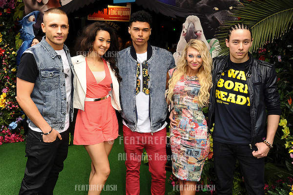 """NVS<br /> arives for the """"Rio 2"""" Screening at the Vue cinema Leicester Square, London. 30/03/2014 Picture by: Steve Vas / Featureflash"""