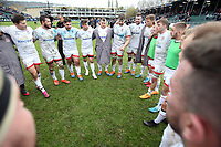 16 November 2019; Iain Henderson talks to his players after the Heineken Champions Cup Pool 3 Round 1 match between Bath and Ulster at The Recreation Ground in Bath, England. Photo by John Dickson/DICKSONDIGITAL