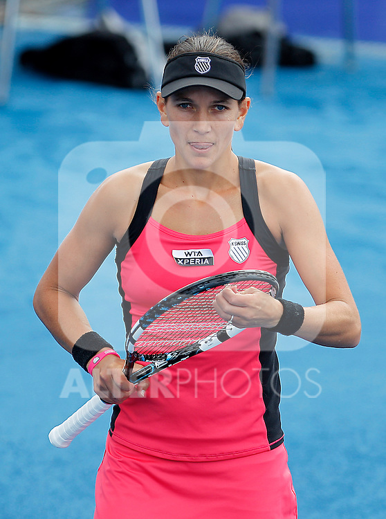 Chanelle Scheepers during Madrid Open Tennis 2012 Match.May, 7, 2012(ALTERPHOTOS/ALFAQUI/Acero)