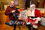 Barry Francis will be helping out Santa during Covid for Christmas with Michael Pixie Gorman videographer.
