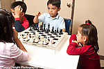 Education chess afterschool program for children held in Headstart classrooms
