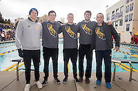 Cal Swimming & Diving M vs Stanford, February 18, 2017