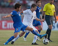 Tyler Polak. Italy defeated the US Under-17 Men's National Team 2-1 in Kaduna, Nigera on November 4th, 2009.