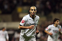 Pictured: Darren Pratley of Swansea.<br /> Re: Coca Cola Championship, Swansea City Football Club v Queens Park Rangers at the Liberty Stadium, Swansea, south Wales 21st October 2008.