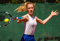 Hilversum, Netherlands, Juli 29, 2019, Tulip Tennis center, National Junior Tennis Championships 12 and 14 years, NJK, Roos Schoemaker (NED)<br /> Photo: Tennisimages/Henk Koster