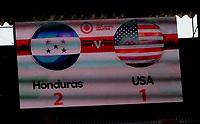 GUADALAJARA, MEXICO - MARCH 28: USA v Honduras during a game between Honduras and USMNT U-23 at Estadio Jalisco on March 28, 2021 in Guadalajara, Mexico.