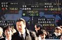 Japanese stocks take a dive on the Tokyo Stock Exchange market