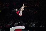 Gymnastics World Cup  23.3.19. World Resorts Arena. Birmingham UK. Leah Griesser (GER) in action