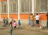 Syrische Flüchtlinge im Flüchtlingslager Voenna Rampa bei Sofia