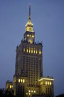 Europe/Pologne/Varsovie: Le palais de la culture et de la science