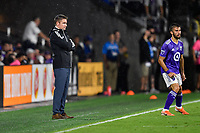 Orlando, FL - Wednesday July 31, 2019:  James O'Connor during an Major League Soccer (MLS) All-Star match between the MLS All-Stars and Atletico Madrid at Exploria Stadium.