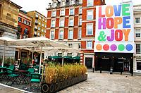 JUL 4 Art Installation in Covent Garden