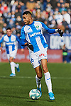 Youssef En-Nesyri of CD Leganes during La Liga match between CD Leganes and RCD Espanyol at Butarque Stadium in Leganes, Spain. December 22, 2019. (ALTERPHOTOS/A. Perez Meca)