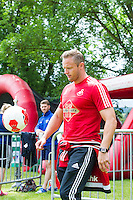 Pictured: Lee Trundle Monday 20 July 2015<br />