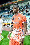 Jeju United Forward Frederic Mendy getting into the field during the AFC Champions League 2017 Group Stage - Group H match between Jeju United FC (KOR) vs Adelaide United (AUS) at the Jeju World Cup Stadium on 11 April 2017 in Jeju, South Korea. Photo by Marcio Rodrigo Machado / Power Sport Images
