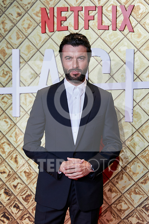 Javier Rey attends to 'HACHE' Photocall at Paz Cinema in Madrid, Spain. October 16, 2019. (ALTERPHOTOS/A. Perez Meca)