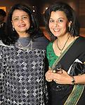 Huma Iftikhar and Sarah Zaidi at the Arts of the Islamic World Gala at the Museum of Fine Arts Houston Friday May 14,2010.  (Dave Rossman Photo)
