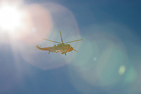 Sea King Search and Rescue helicopter above Ben Nevis, Scotland<br /> <br /> In 2015 The Royal Air Force has ceased providing Search and Rescue (SAR) services for the United Kingdom mainland, with the Royal Navy scheduled to follow suit next year, with the responsibility then falling to a civilian government agency and private contractors through a GBP1.6 billion contract awarded in March 2013. The RAF's H3 Sea King helicopters used to conduct SAR operations are being retired as the Maritime and Coastguard Agency and private company Bristow Helicopters Ltd are phased-in to replace them.