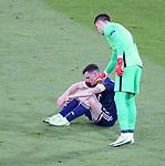 22.06.2021 Croatia v Scotland: Andy Robertson and Dominik Livakovic