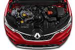Car Stock 2021 Renault Arkana Intens 5 Door SUV Engine  high angle detail view