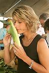 Jennifer Novinger at Lewisburg farmers market.