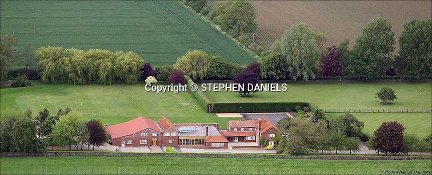 PHOTO ©  Stephen Daniels  22/05/2009<br /> The Grange Spa, Pointon, Lincolnshire.<br /> Aerial