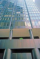 Houston:  Houston Center, elevation. SW side.  Photo '80.